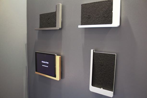 Open Design Wall Mounts in 4 Colors - Grey, Silver, White and Gold