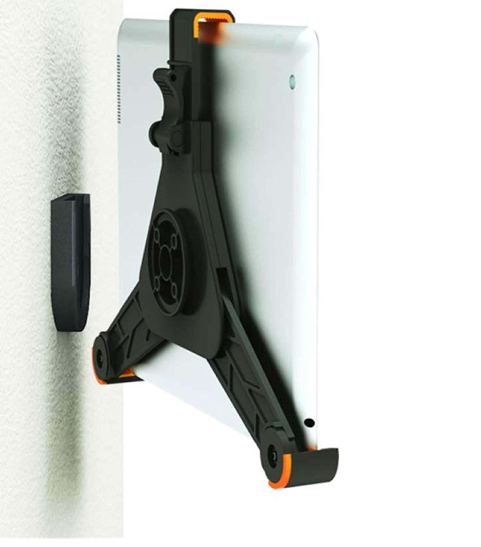 Zazz tablet wall mount for samsung galaxy tablets